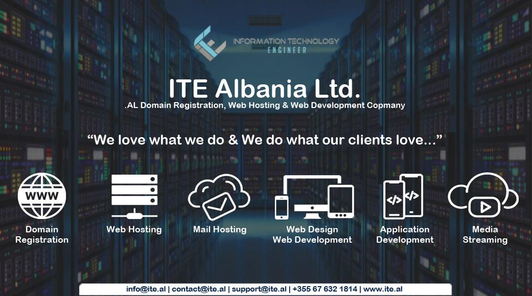 ITE Albania Ltd. Cover