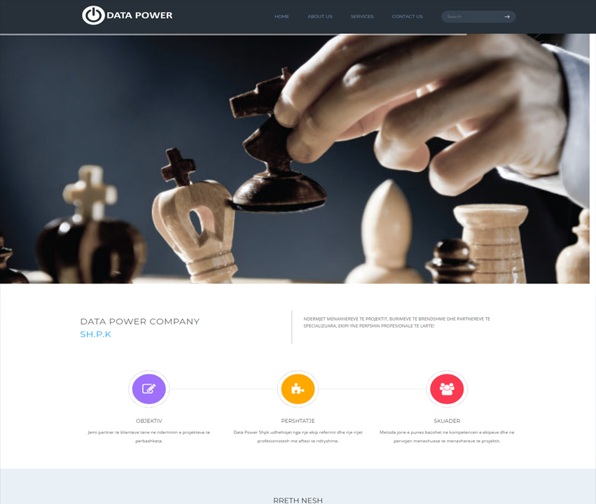 Data Power Shpk - ITE Albania Ltd. | .AL Domain Registration, Web Hosting & Web Development