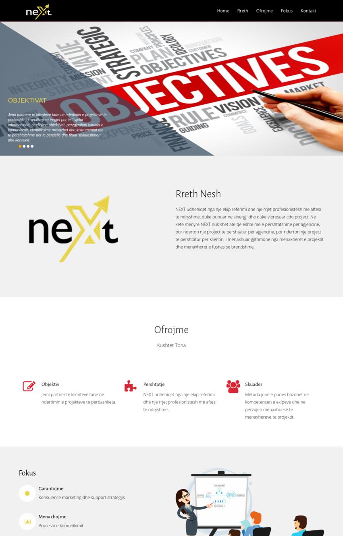 Next Sha - ITE Albania Ltd. | .AL Domain Registration, Web Hosting & Web Development