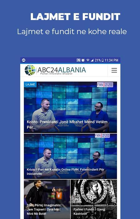 Abc24.Al App - ITE Albania Ltd.   .AL Domain Registration, Web Hosting & Web Development