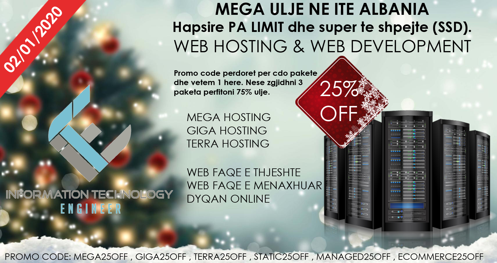 MEGA ULJE NE ITE ALBANIA - ITE Albania Ltd. | .AL Domain Registration, Web Hosting & Web Development