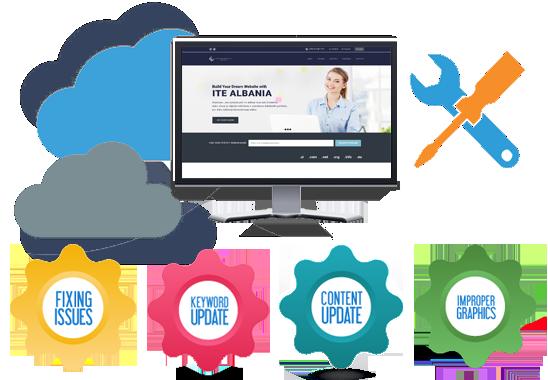 Website Maintenance - ITE Albania Ltd. | Web Hosting & Web Development Company